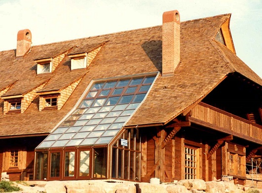 Awesome Wood Roof Shingles Design