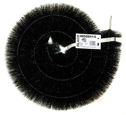 Black Hedgehog Gutter Brush