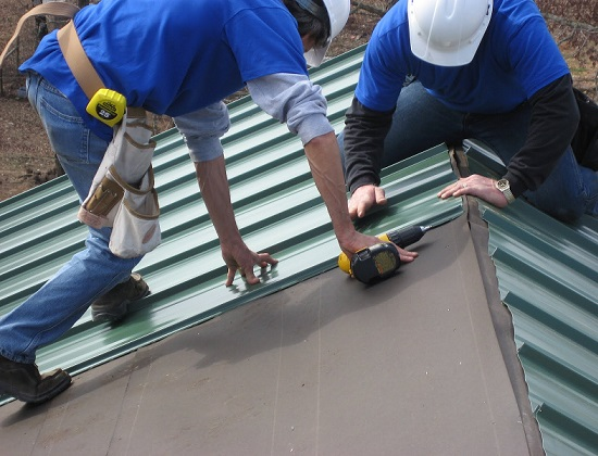 DIY Metal Roofing Installation