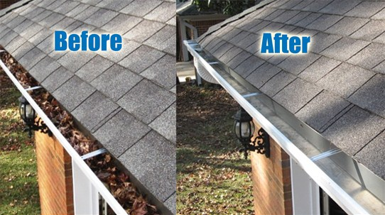 DIY Rain Gutter Cleaners