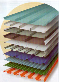 Differenty Types of Metal Roofing