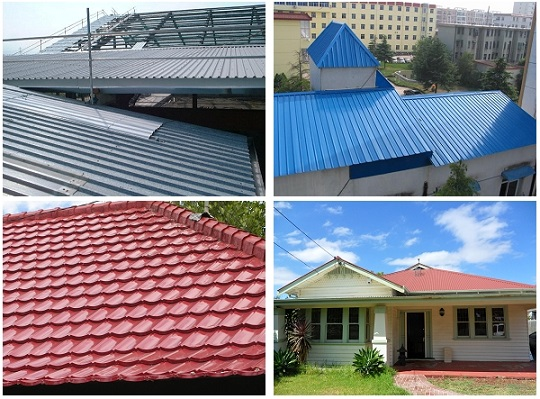 Galvanized Corrugated Metal Roofing Design Ideas