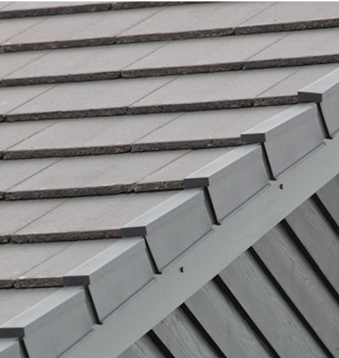 Interlocking Flat Concrete Roof Tiles