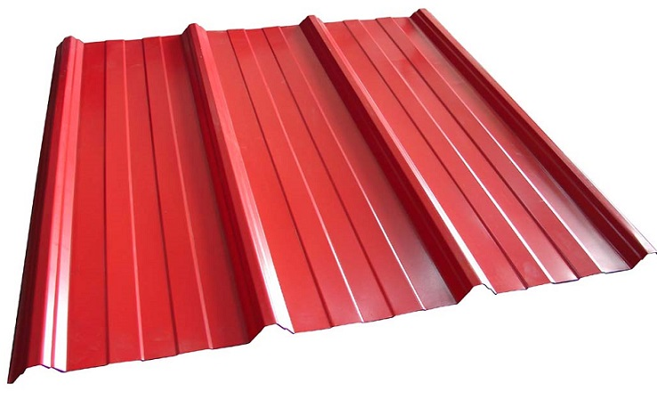 Red Corrugated Metal Roofing Prices