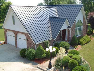 Residential Metal Standing Seam Roof