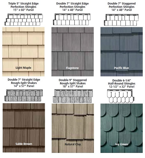 Making a smart investment in shingle siding roof replacement for Types of shingle siding