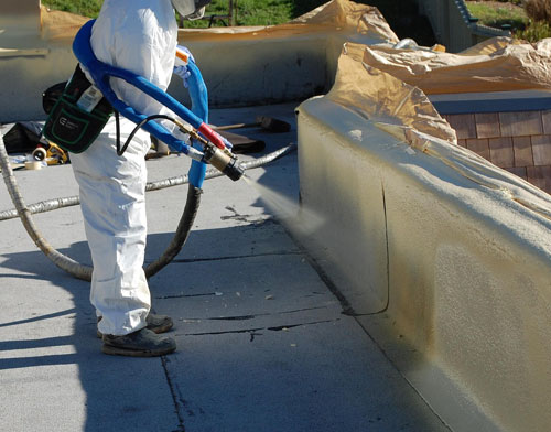 All About Foam Roofing Roof Replacement