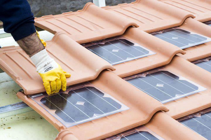 Awesome Solar Concrete Roofing Tiles
