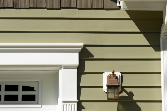 Green Vinyl House Siding Options