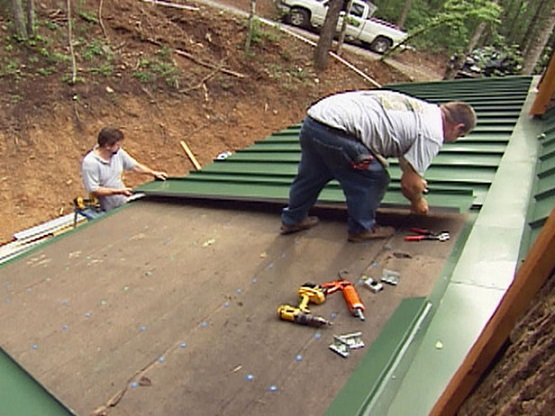 Learn How To Install Steel Roof Shingles