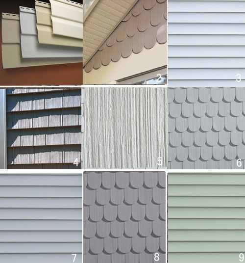 A beginner s guide on installing vinyl siding roof for Exterior siding design ideas